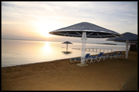 מלון דניאל ים המלח חוף הים